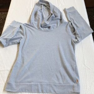 LUCY SWEAT TOP WITH HOOD SIZE M